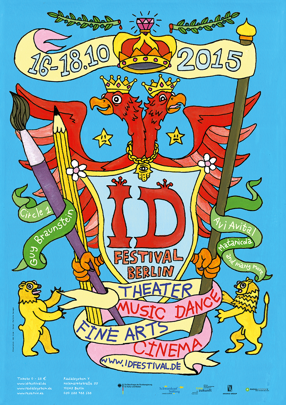Poster ID Festival 2015